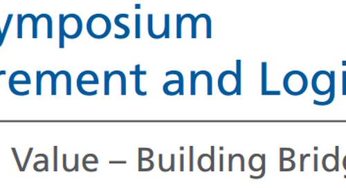 50th Symposium Procurement and Logistics
