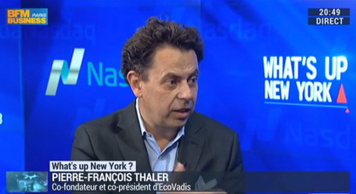 EcoVadis Co-Founder and Co-President on BFM Business TV