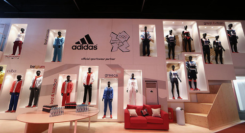 The Sky is the Limit for Adidas at the London 2012 Olympic Games