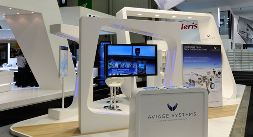 GES Takes AVIAGE SYSTEMS for First Flight at Paris Air Show 2015