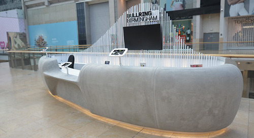 Bullring Shopping Centre Customer Service Desk Design