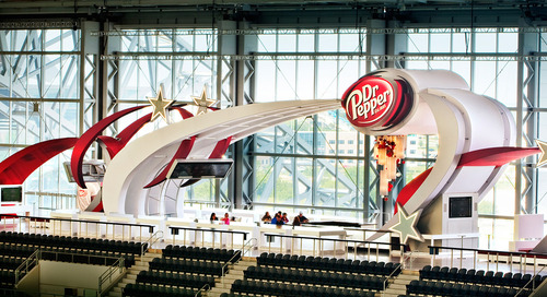 Dr Pepper Star Bar at Dallas Cowboy Stadium