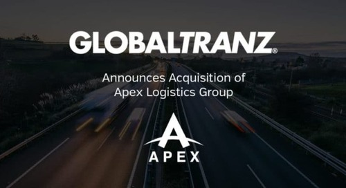 GlobalTranz Announces Acquisition of Apex Logistics Group