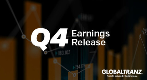 GlobalTranz Reports Record Fourth Quarter Revenues; Up 67% Year Over Year