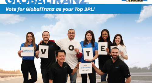Vote GlobalTranz an Inbound Logistics Top 3PL