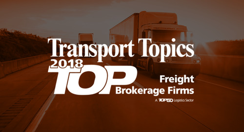 Transport Topics Names GlobalTranz Among Top 10 Freight Brokerages