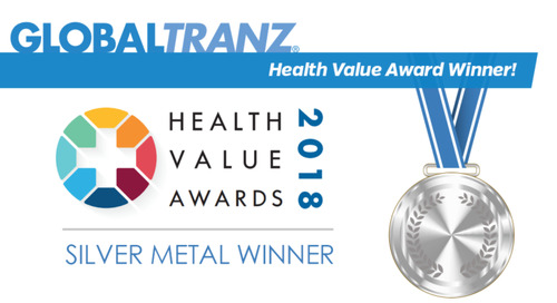 GlobalTranz Wins 2018 Health Value Awards Silver Medal by World Health Care Congress