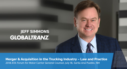 GlobalTranz General Counsel Shares Trucking and Transportation Legal Insights at National Conference on July 18