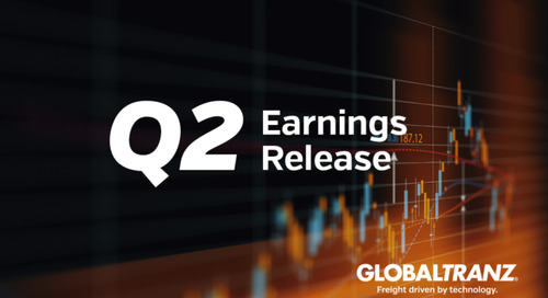 GlobalTranz Reports Record Second Quarter Revenues