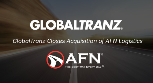 GlobalTranz Closes Acquisition of AFN Logistics