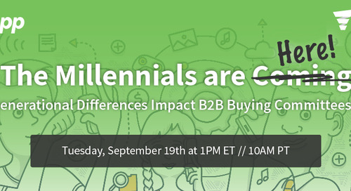 Are Millennials scared of the doorbell? And other B2B sellers' tricks?