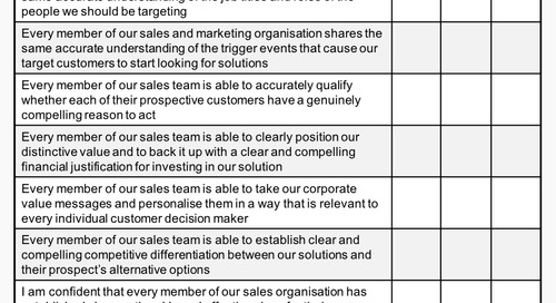 12 keys to value selling success for 2018