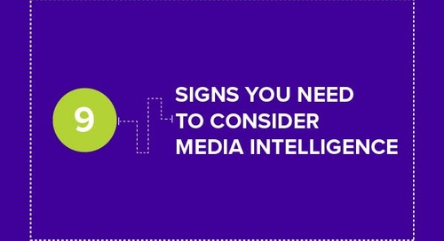 [infographic] 9 signs you need to consider media intelligence