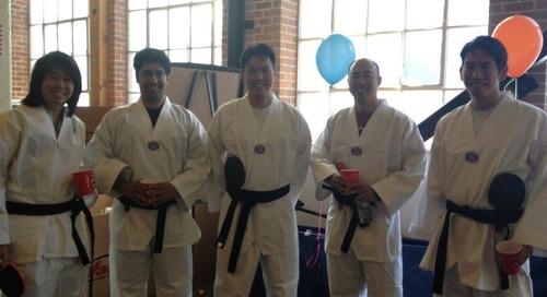 LeanData Ping Pong Black Belts