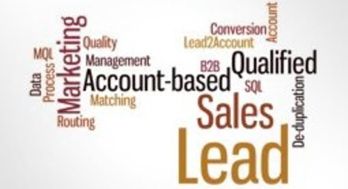 Glossary of Lead Management Terms