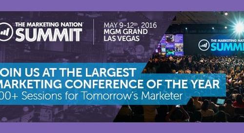 Sneak Peak of The Marketing Nation Summit