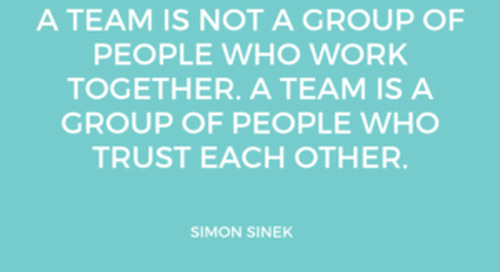 The one thing … TEAMWORK