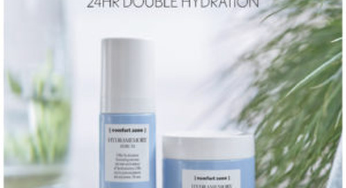 Launching [comfort zone] HYDRAMEMORY 24hr Double Hydration & Giveaway