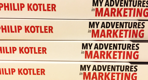 """BOOK REVIEW: """"My Adventures in Marketing"""" by Philip Kotler"""