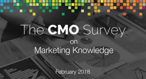 """""""The CMO Survey: How Does Your Company Develop New Marketing Capabilities?"""" – Christine Moorman"""