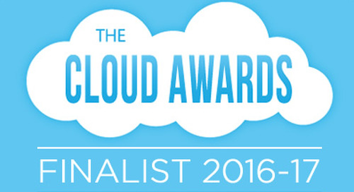 Messagepoint® Named 2016-2017 Cloud Awards Finalist  for Second Consecutive Year