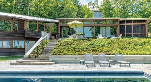 A Natural Landscape Design in the Berkshires