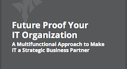 How Can You Align Structure, Process & People in IT?