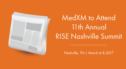 MedXM to Attend 11th Annual RISE Nashville Summit | Nashville,TN | March 6-8, 2017