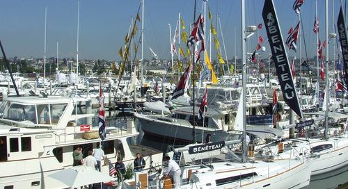 Sunroad Marina Boat Show