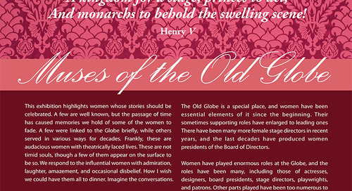 Muses of The Old Globe