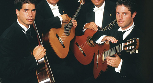 Romero Classical Guitar Quartet Benefit Concert
