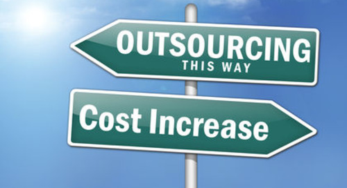Stock Market Decline May Mean More Outsourcing for S&P 500 Companies