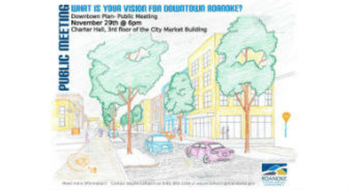 Downtown Plan draft available for review