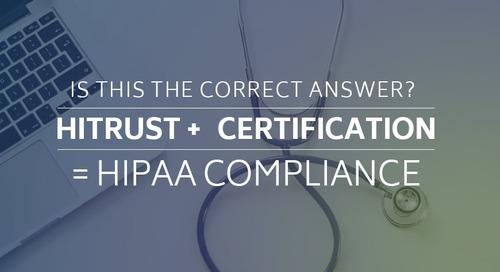 HITRUST + Certification