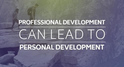 Professional Development Can Lead to Personal Development