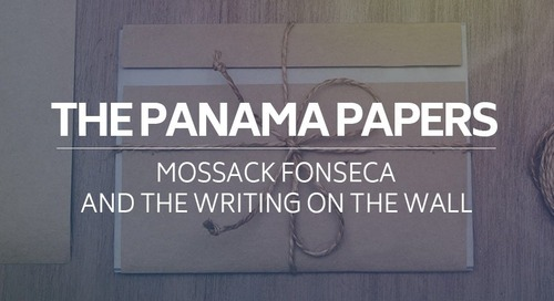 The Panama Papers, Mossack Fonseca and the Writing on the Wall