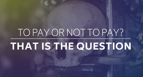 To Pay or Not to Pay - That Is The Question