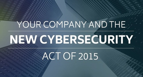 Your Company and the New Cybersecurity Act of 2015