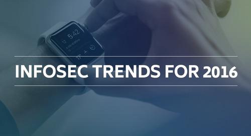 Infosec Trends in 2016