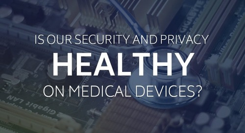 Is Our Security and Privacy Healthy on Medical Devices?