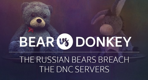 Bear vs. Donkey - The Russian Bears Breach the DNC Servers