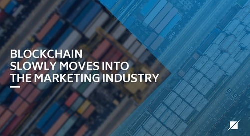 Blockchain Slowly Moves Into the Marketing Industry