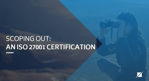 Scoping Out: An ISO 27001 Certification