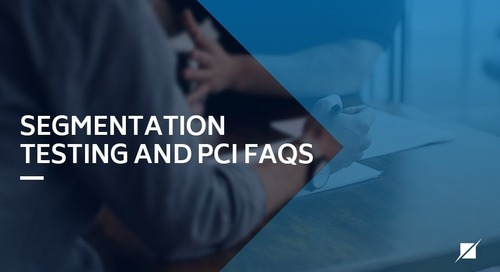 Segmentation Testing and PCI FAQs