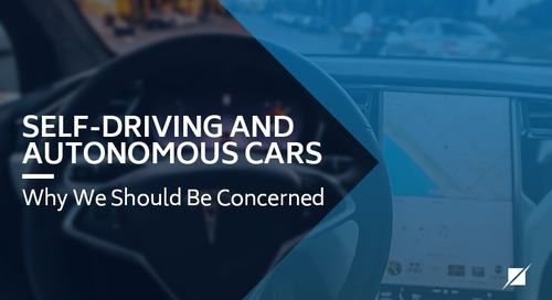 Self-Driving and Autonomous Cars - Why We Should Be Concerned