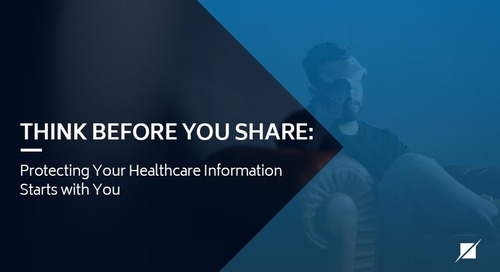 Think Before You Share: Protecting Your Healthcare Information Starts with You