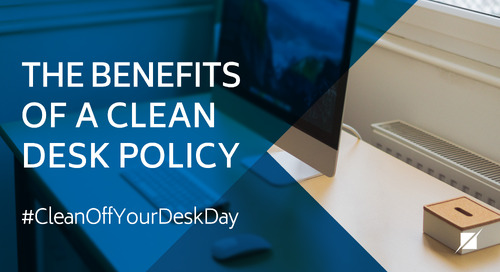 The Benefits of a Clean Desk Policy