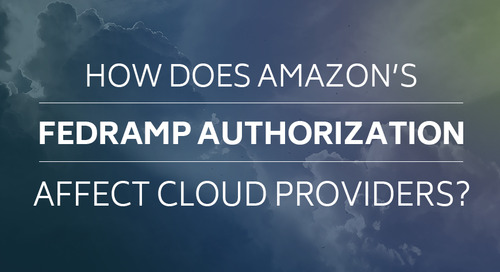 How Does Amazon's FedRAMP Authorization Affect Cloud Providers?