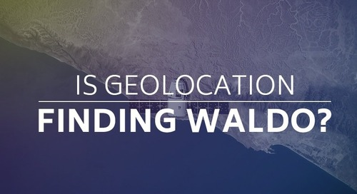 Is Geolocation Finding Waldo?