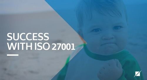 Success with ISO 27001